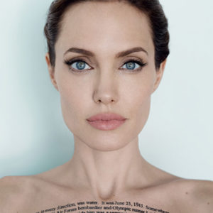 WOMAN OF THE YEAR: ANGELINA JOLIE BY MARIO TESTINO FOR VANITY FAIR