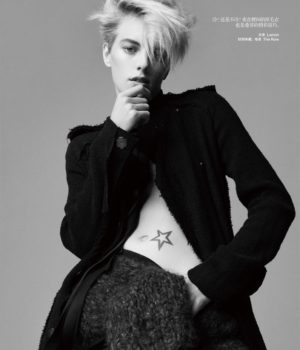 ERIKA LINDER BY NAGI SAKAI FOR HARPER'S BAZAAR CHINA