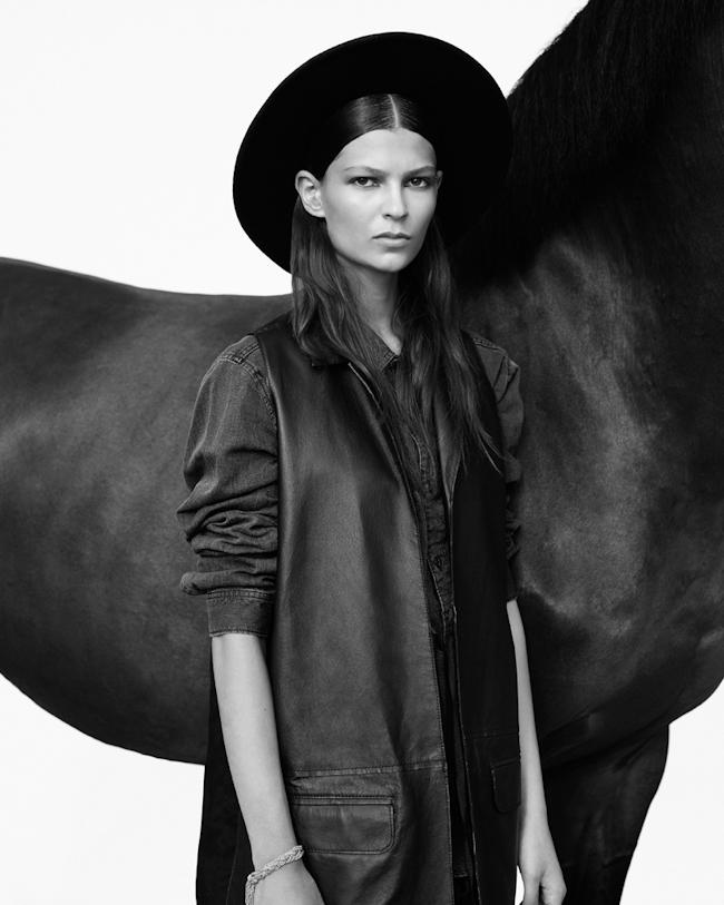 Emilia Nawarecka By Adam Plucinski For Harper's Bazaar Poland October 2014