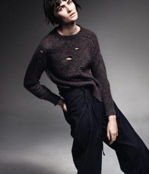 LARA MULLEN BY TAKAY FOR ELLE FRANCE NOVEMBER 2014