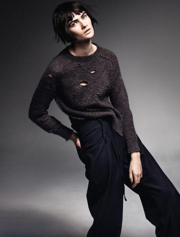 Lara Mullen by Takay For Elle France November 2014 (1)