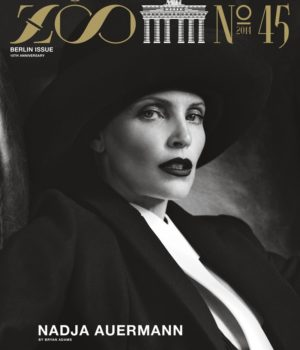 NADJA AUERMANN COVERS ZOO MAGAZINE WINTER 2014