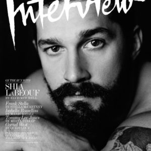 Shia LaBeouf by Craig McDean For Interview Magazine