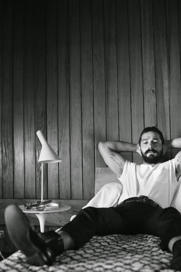 Shia LeBeouf by Craig McDean For Interview Magazine (2)