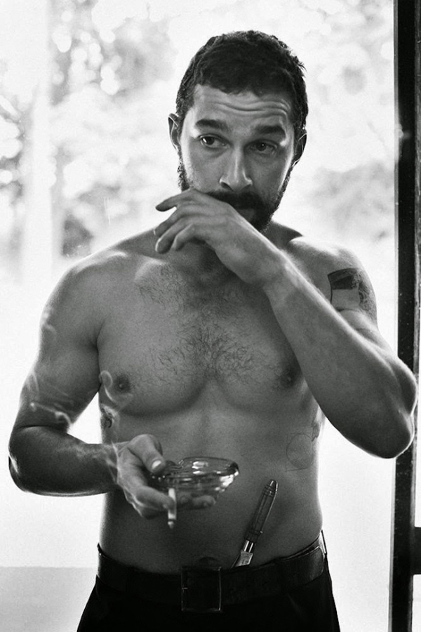 Shia LeBeouf by Craig McDean For Interview Magazine (6)