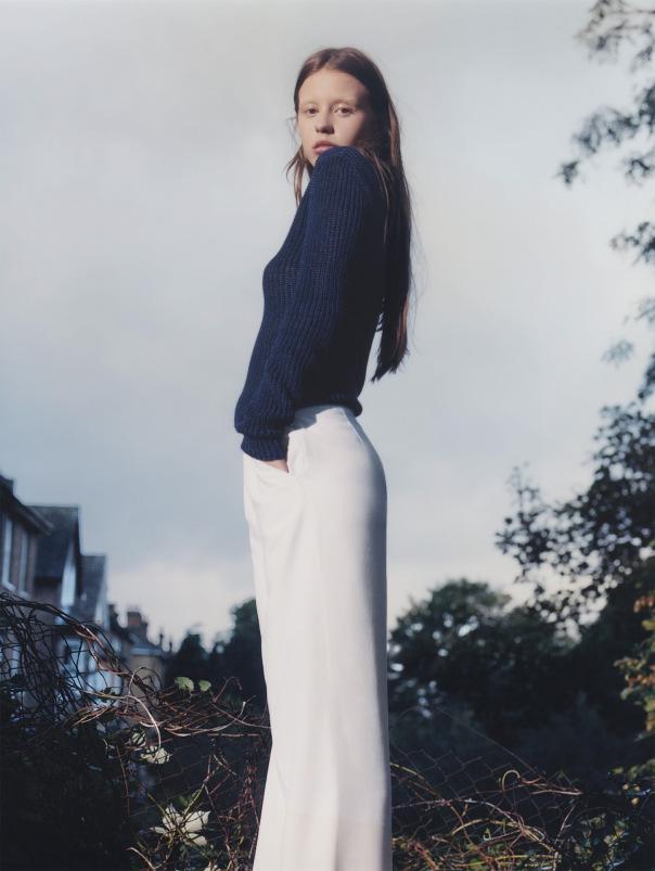 Vogue UK January 2015 Natural Wonder, Mia Goth, Harley Weir (3)
