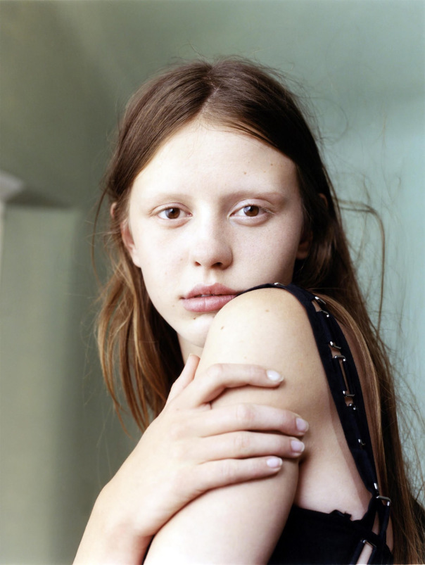 Vogue UK January 2015 Natural Wonder, Mia Goth, Harley Weir (7)