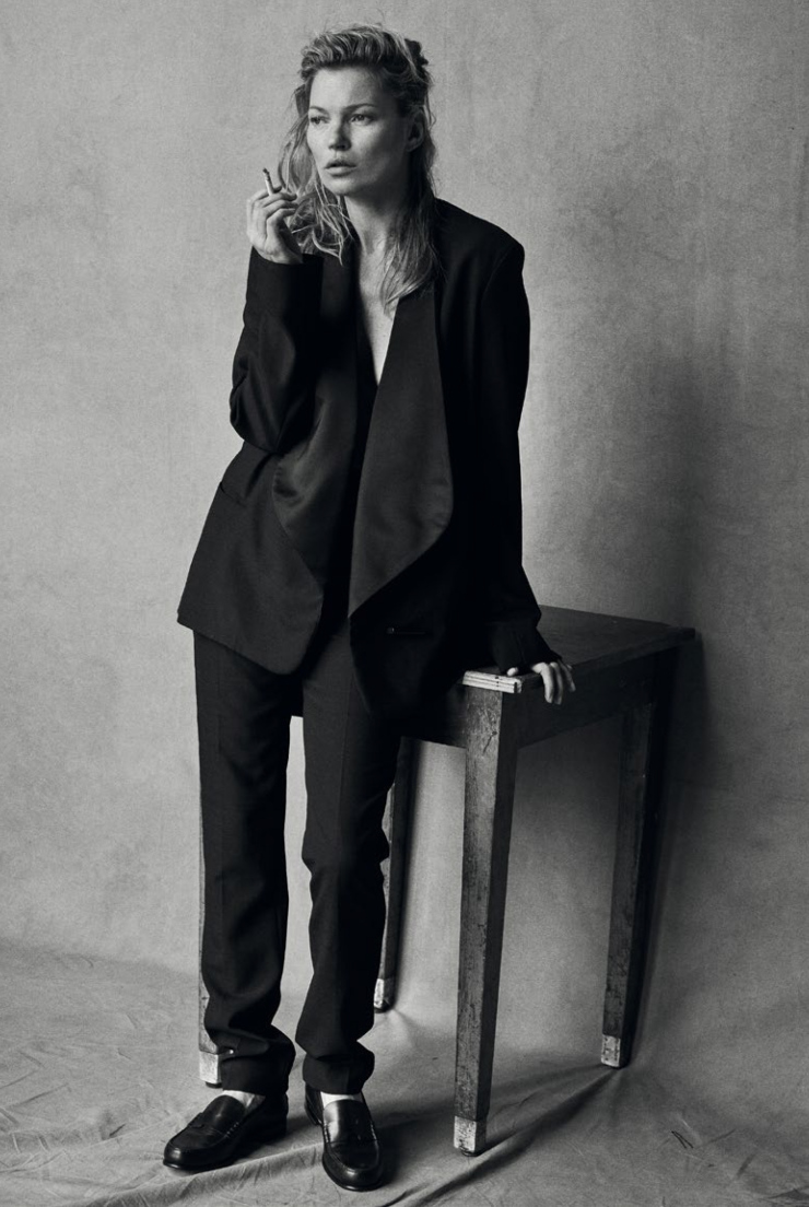 Kate Moss By Peter Lindbergh For Vogue Italia January 2015 (1)
