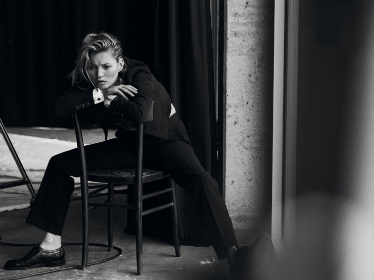 Kate Moss By Peter Lindbergh For Vogue Italia January 2015 (11)