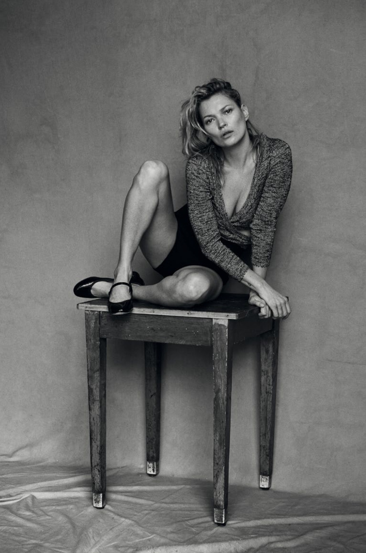 Kate Moss By Peter Lindbergh For Vogue Italia January 2015 (4)