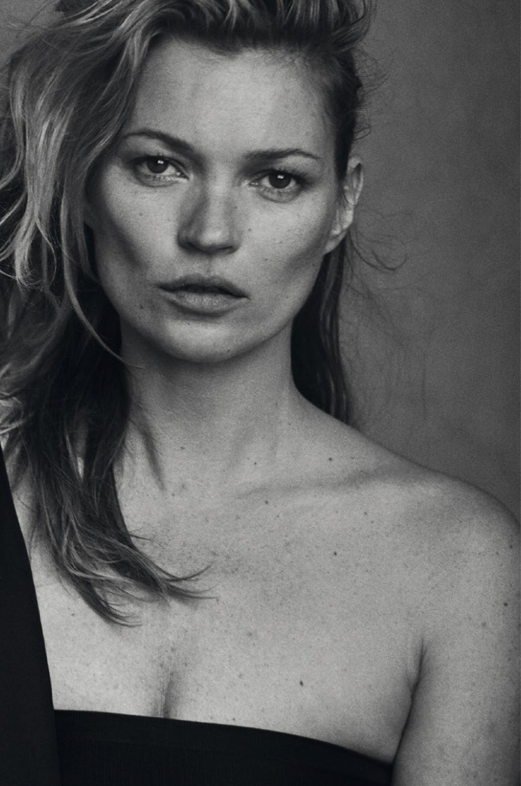 Kate Moss By Peter Lindbergh For Vogue Italia January 2015 (6)