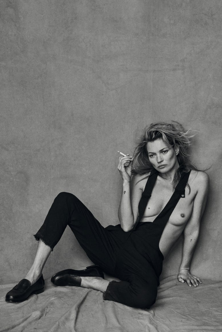 Kate Moss By Peter Lindbergh For Vogue Italia January 2015 (7)