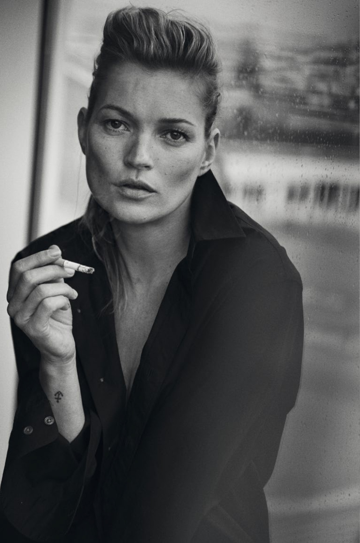 Kate Moss By Peter Lindbergh For Vogue Italia January 2015 (8)