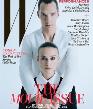 THE MOVIE ISSUE: W MAGAZINE FEBRUARY 2015 COVERS