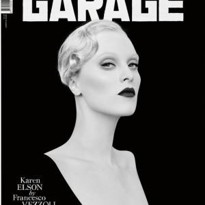 GARAGE MAGAZINE SPRING-SUMER 2015 NEW COVER: KAREN ELSON BY FRANCESCO VEZZOLI