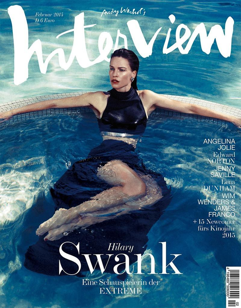 Hilary Swank Covers Interview Germany February 2015, Driu Crilly & Tiago Martel (3)