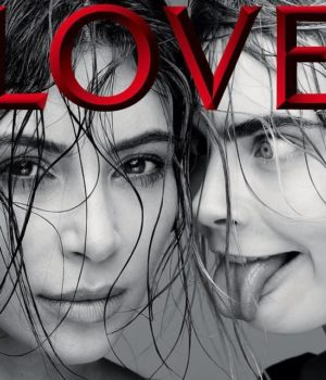 Kim Kardashian, Cara Delevingne, Kendall Jenner Cover Love Magazine