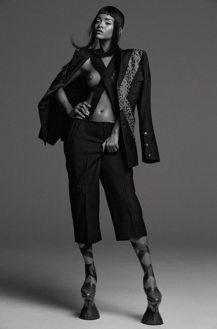 Rihanna Another Magazine Spring-Summer 2015, Inez van Lamsweerde & Vinoodh Matadin (6)