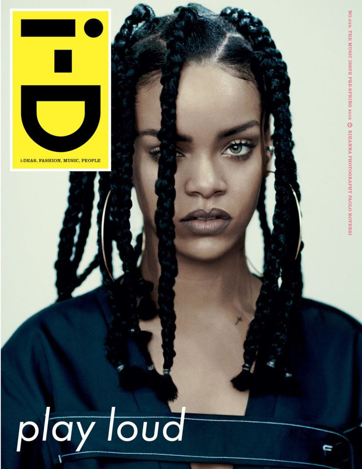 Rihanna By Paolo Roversi For i-D Magazine Pre-Spring 2015  (1)