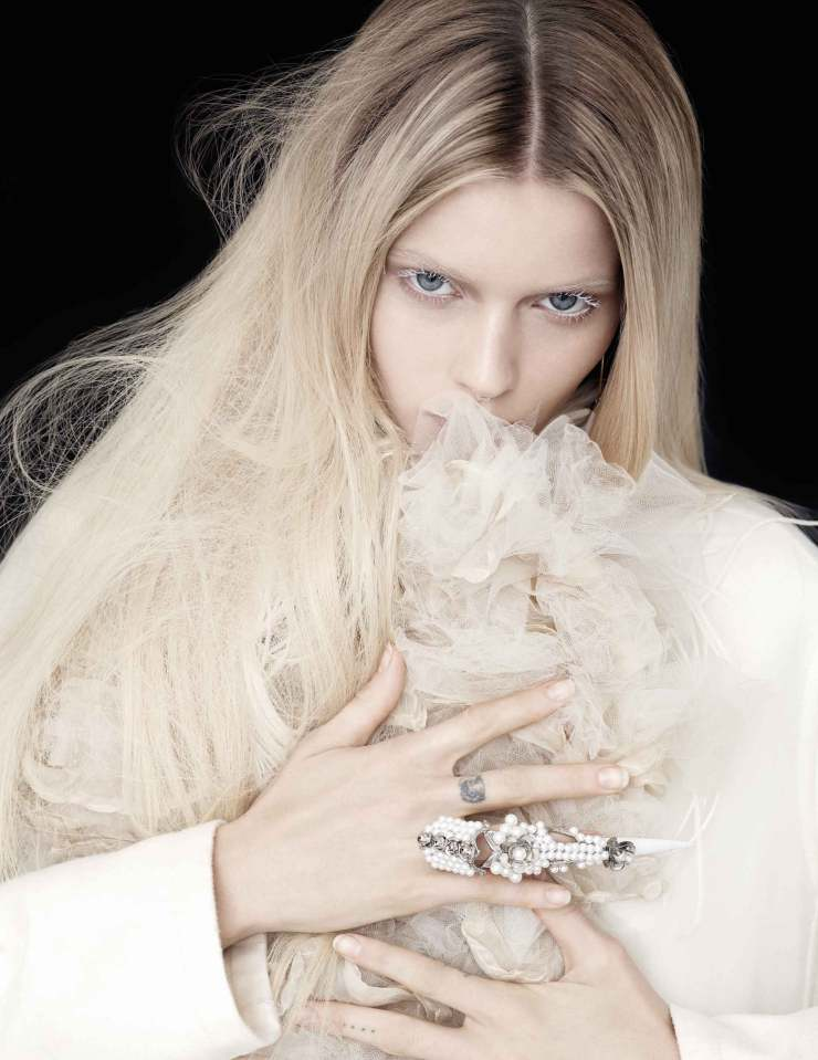 Abbey Lee Kershaw For Flaunt Magazine February 2015 (2)