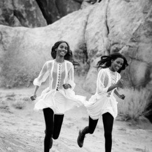 American Vogue Light Brigade By Peter Lindbergh & Grace Coddington
