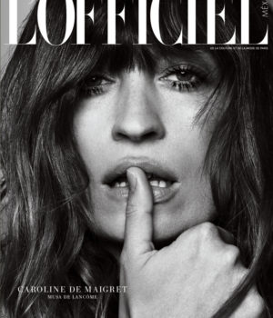 CAROLINE DE MAIGRET COVERS L'OFFICIEL MEXICO MARCH 2015 ANNIVERSARY ISSUE