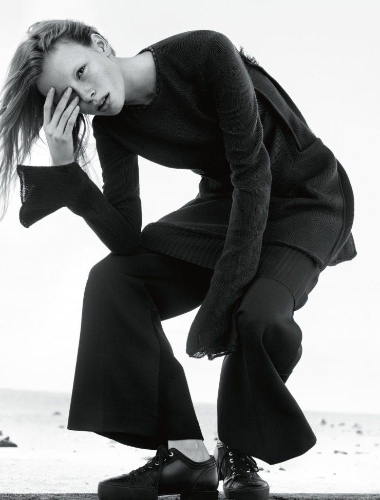 Julia Hafstrom By Txema Yeste For Numero March 2015 (4)