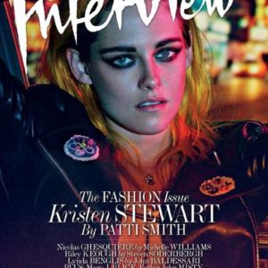 KRISTEN STEWART BY STEVEN KLEIN FOR INTERVIEW MAGAZINE FASHION ISSUE