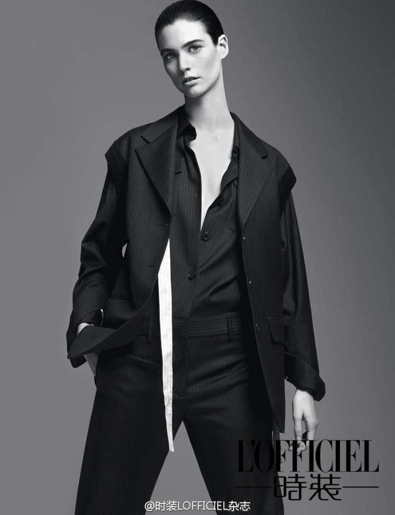 Manon Leloup By Yu Cong For L'Officiel China March 2015 (7)