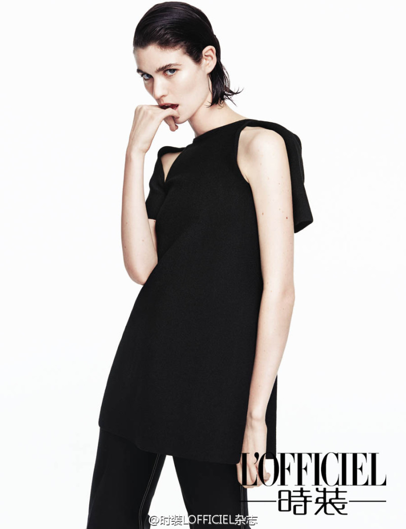 Manon Leloup By Yu Cong For L'Officiel China March 2015 (8)