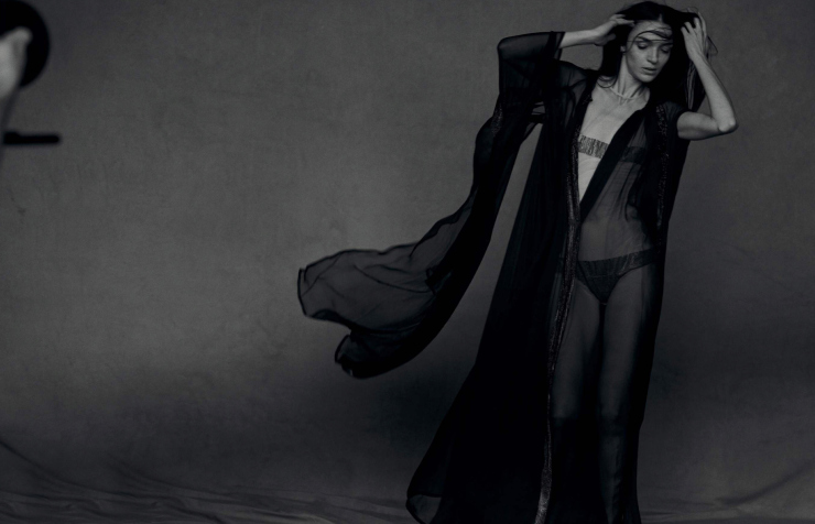 Mariacarla Boscono by Peter Lindbergh for Numero Magazine April 2015 (8)