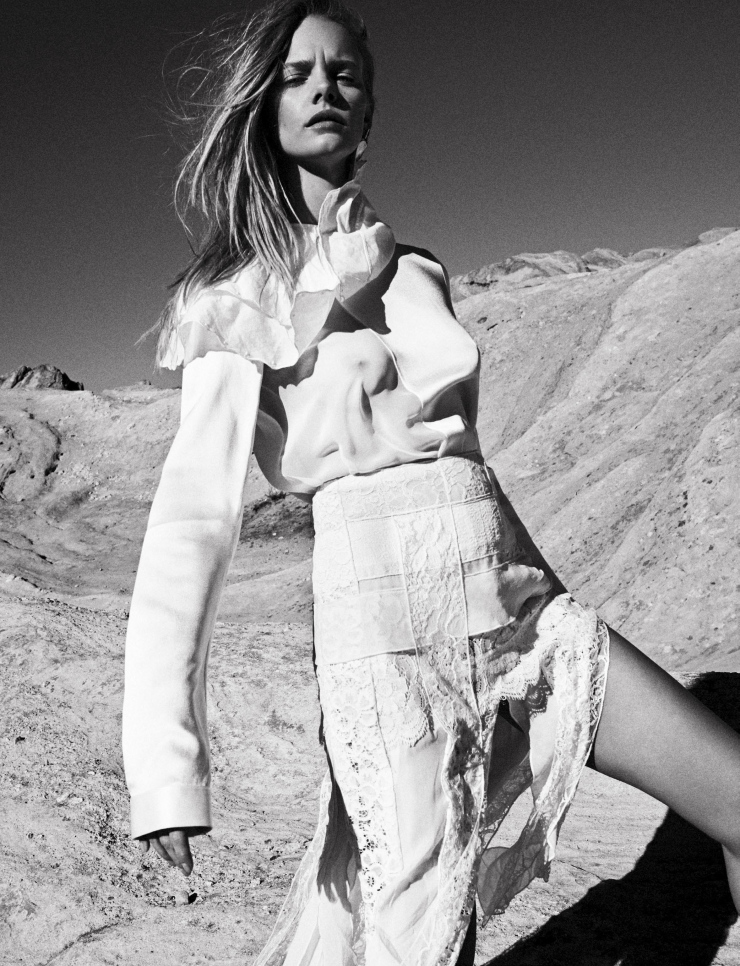 Marloes Horst By Van Mossevelde + N For Grazia France (24)
