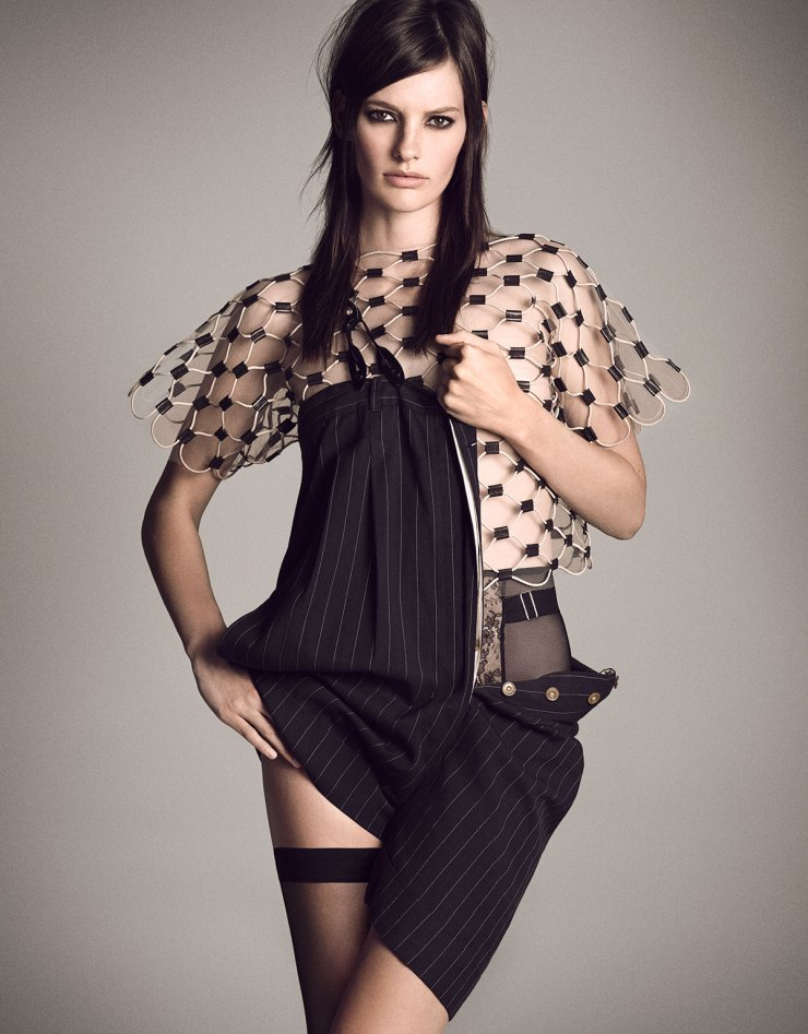 Amanda Murphy by Luigi Murenu & Iango Henzi for Vogue Japan April 2015 Digital Generation