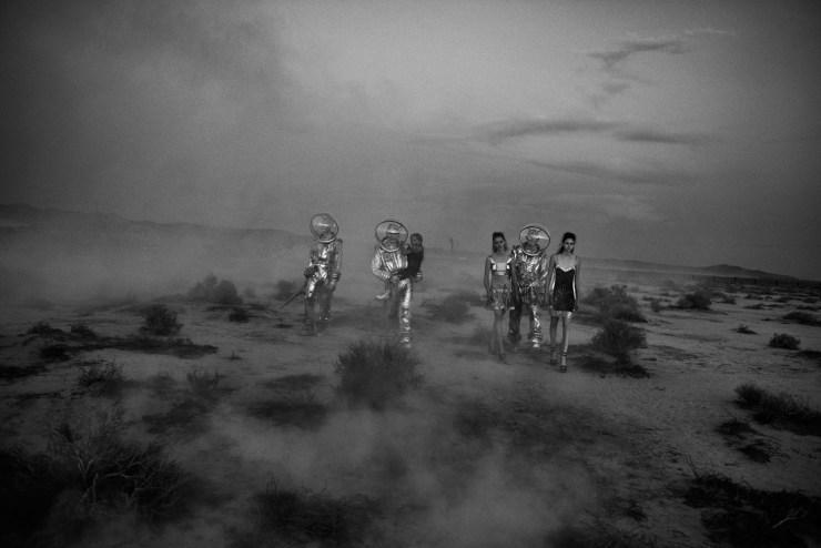 W Magazine March 2015 Apocalypse Now, Sasha Pivovarova, Natalie Westling, Peter Lindbergh (11)