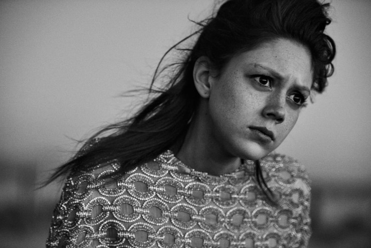 W Magazine March 2015 Apocalypse Now, Sasha Pivovarova, Natalie Westling, Peter Lindbergh (3)