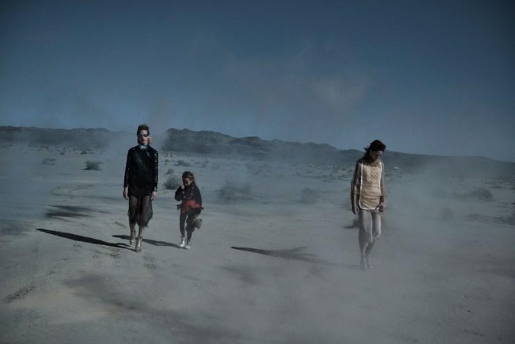 W Magazine March 2015 Apocalypse Now, Sasha Pivovarova, Natalie Westling, Peter Lindbergh (5)