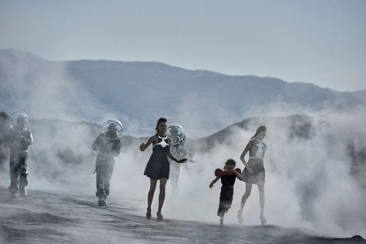 W Magazine March 2015 Apocalypse Now, Sasha Pivovarova, Natalie Westling, Peter Lindbergh (6)