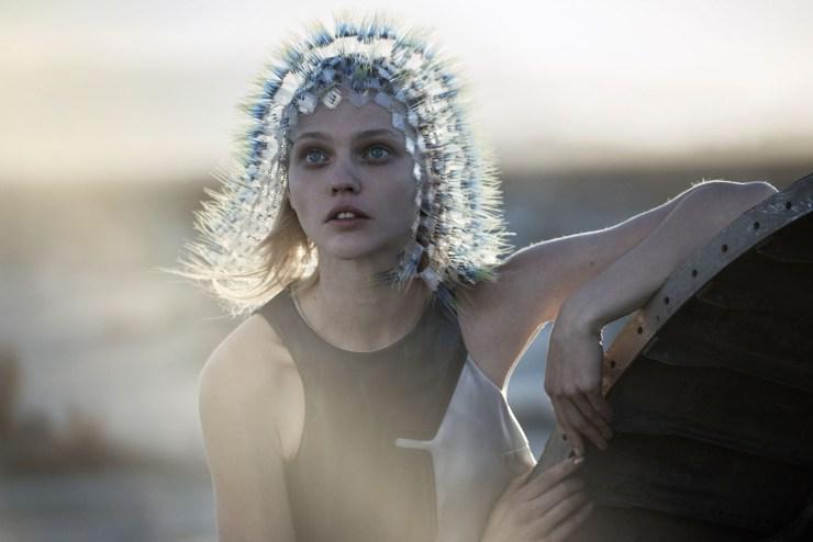 W Magazine March 2015 Apocalypse Now, Sasha Pivovarova, Natalie Westling, Peter Lindbergh (8)