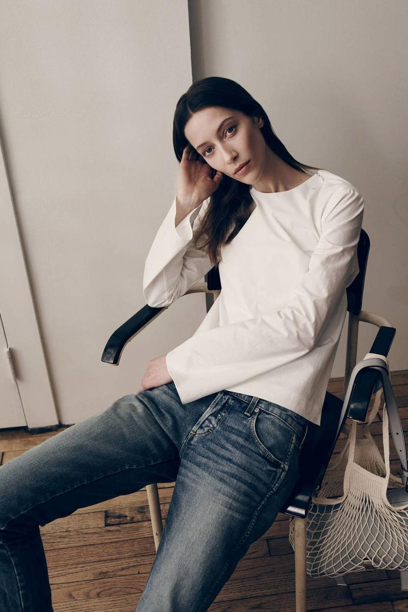 Alana Zimmer, The Line Spring-Summer 2015 - For the Love of Denim (2)