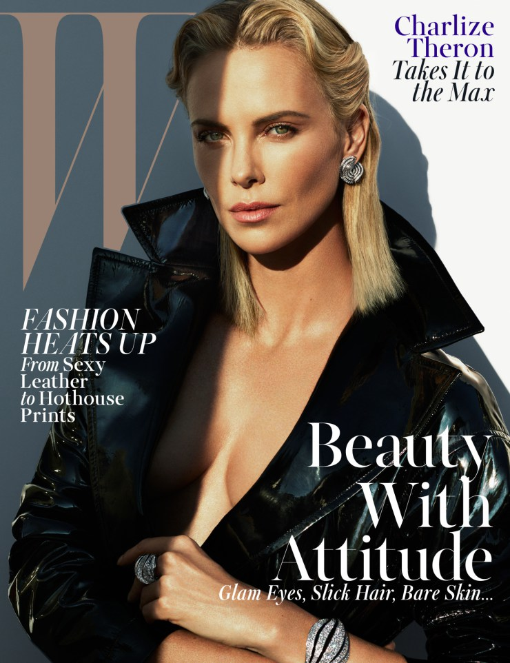 Charlize Theron By Mert Alas Marcus Piggott For W Magazine May 2015 (1)