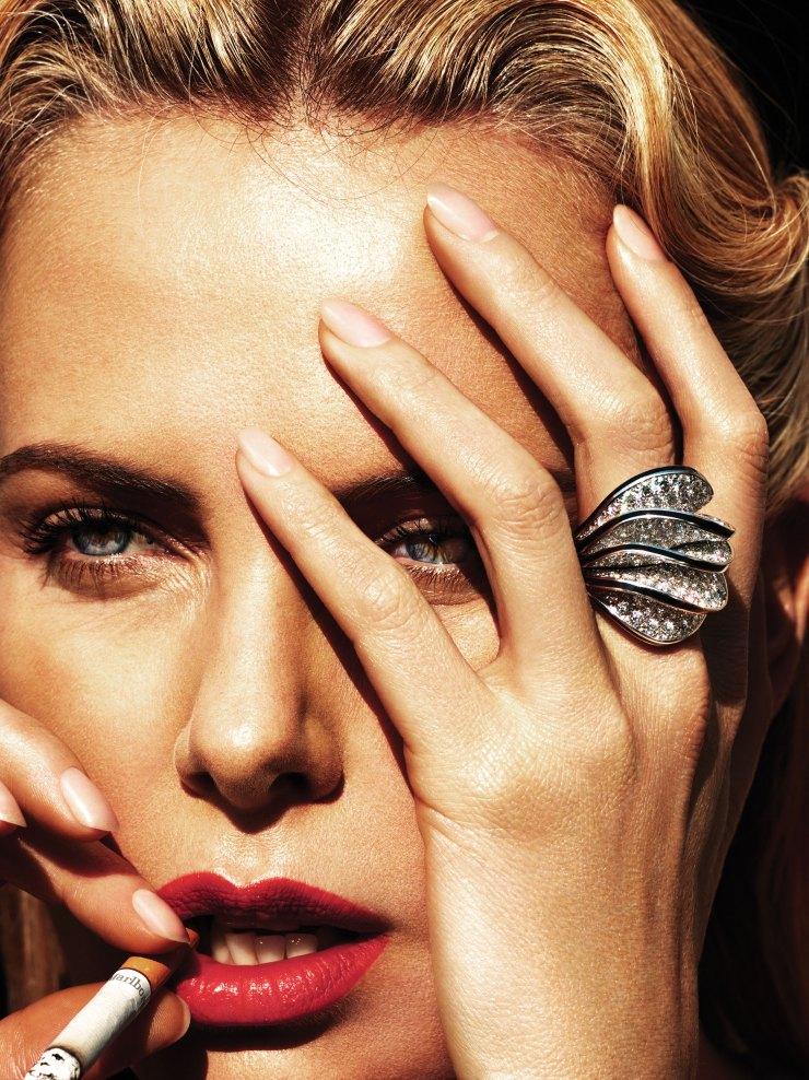 Charlize Theron By Mert Alas Marcus Piggott For W Magazine May 2015 (5)