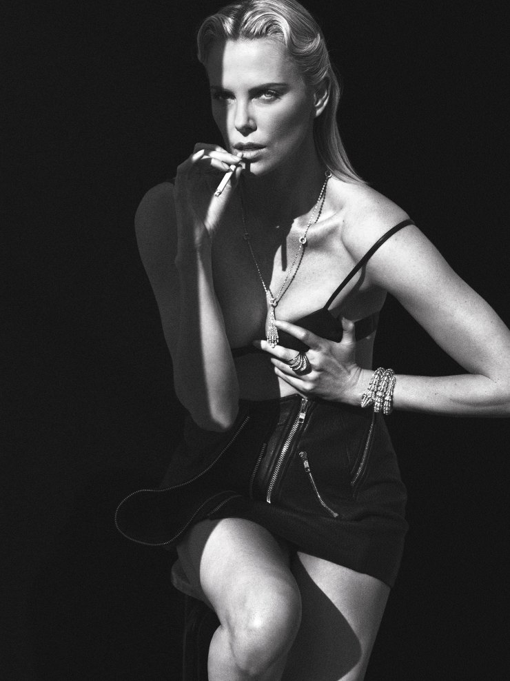 Charlize Theron By Mert Alas Marcus Piggott For W Magazine May 2015 (7)
