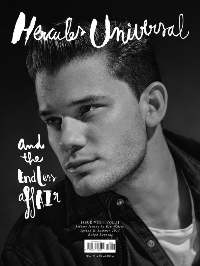 Hercules Magazine Spring-Summer 2015 Covers, Jeremy Irvine, Alessio Pozzi, Austin Scoggin (4)