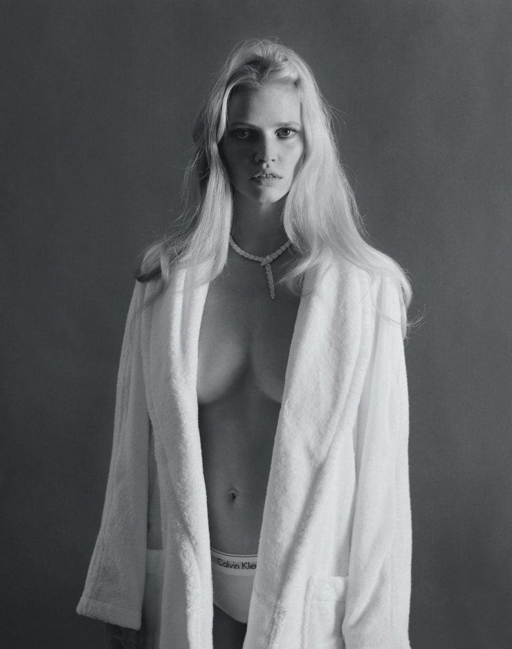 Lara Stone By Elina Kechicheva For Marie Claire France May 2015 (3)