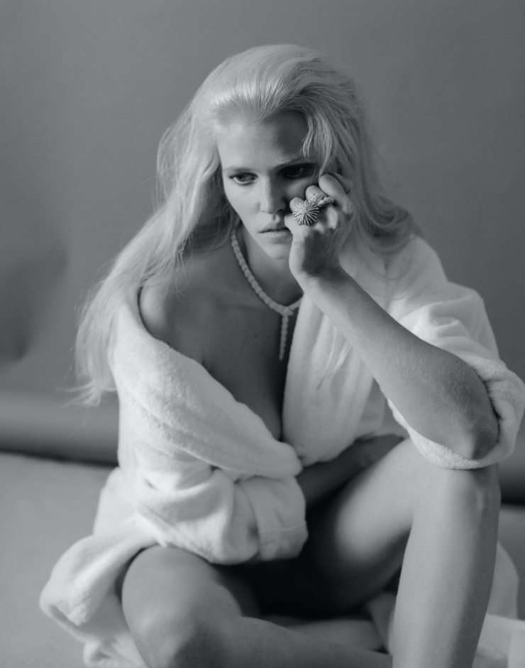 Lara Stone By Elina Kechicheva For Marie Claire France May 2015 (4)