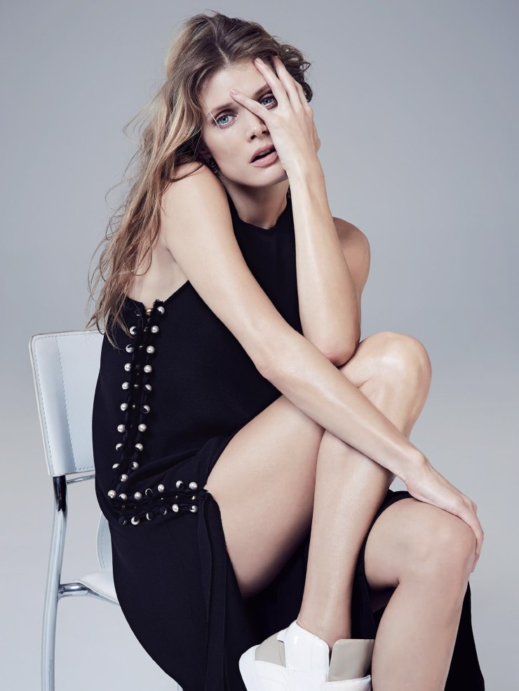 Malgosia Bela By Nicole Bentley For Vogue Australia April 2015