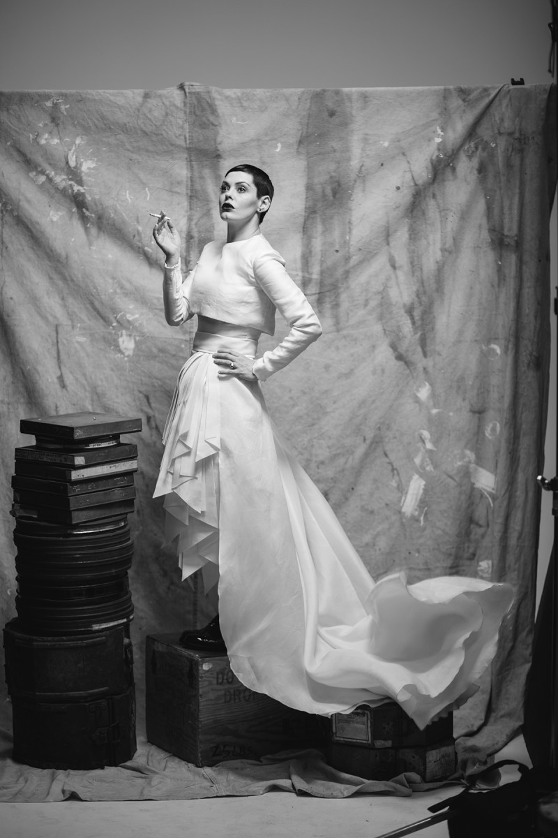 Rose McGowan Covers No Tofu Magazine Spring 2015 (2)