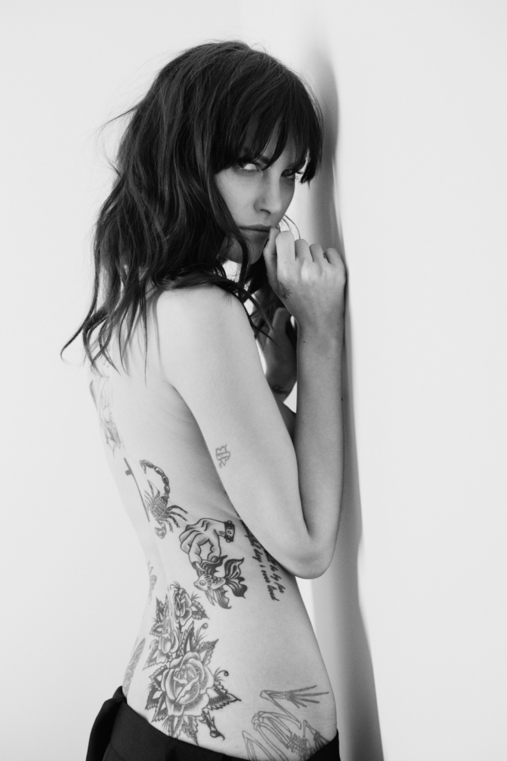 The Diary Of A Tattoo Addict Catherine McNeil For CR Fashion Book Spring-Summer 2015 (11)