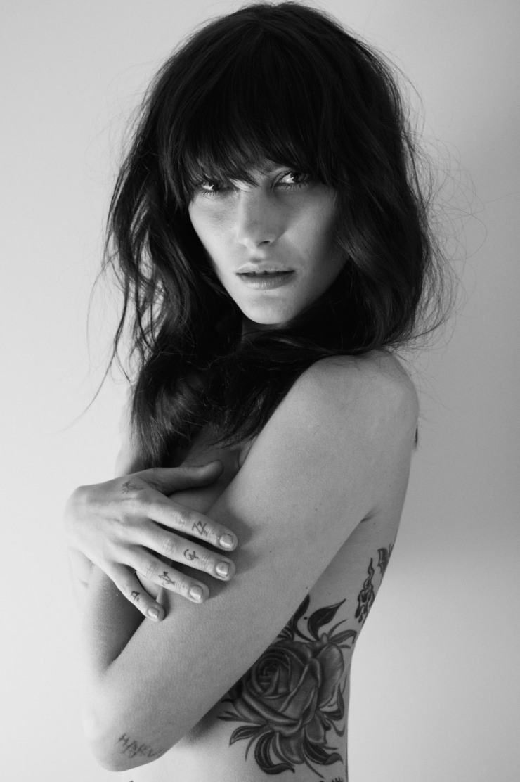 The Diary Of A Tattoo Addict Catherine McNeil For CR Fashion Book Spring-Summer 2015 (2)
