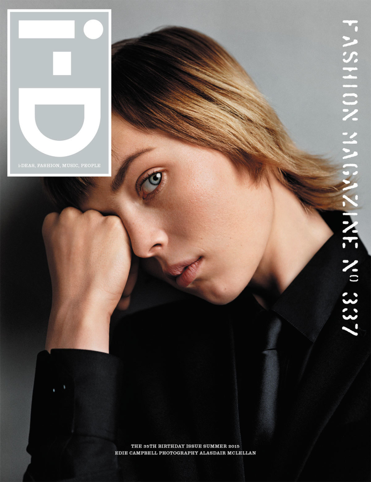 Edie Campbell By Alasdair McLellan For i-D Summer 2015 Cover